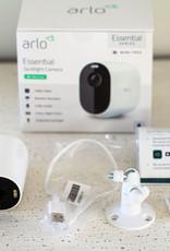 Arlo Arlo - Essential Spotlight Camera – Indoor/Outdoor Wire-Free 1080p Security Camera - White