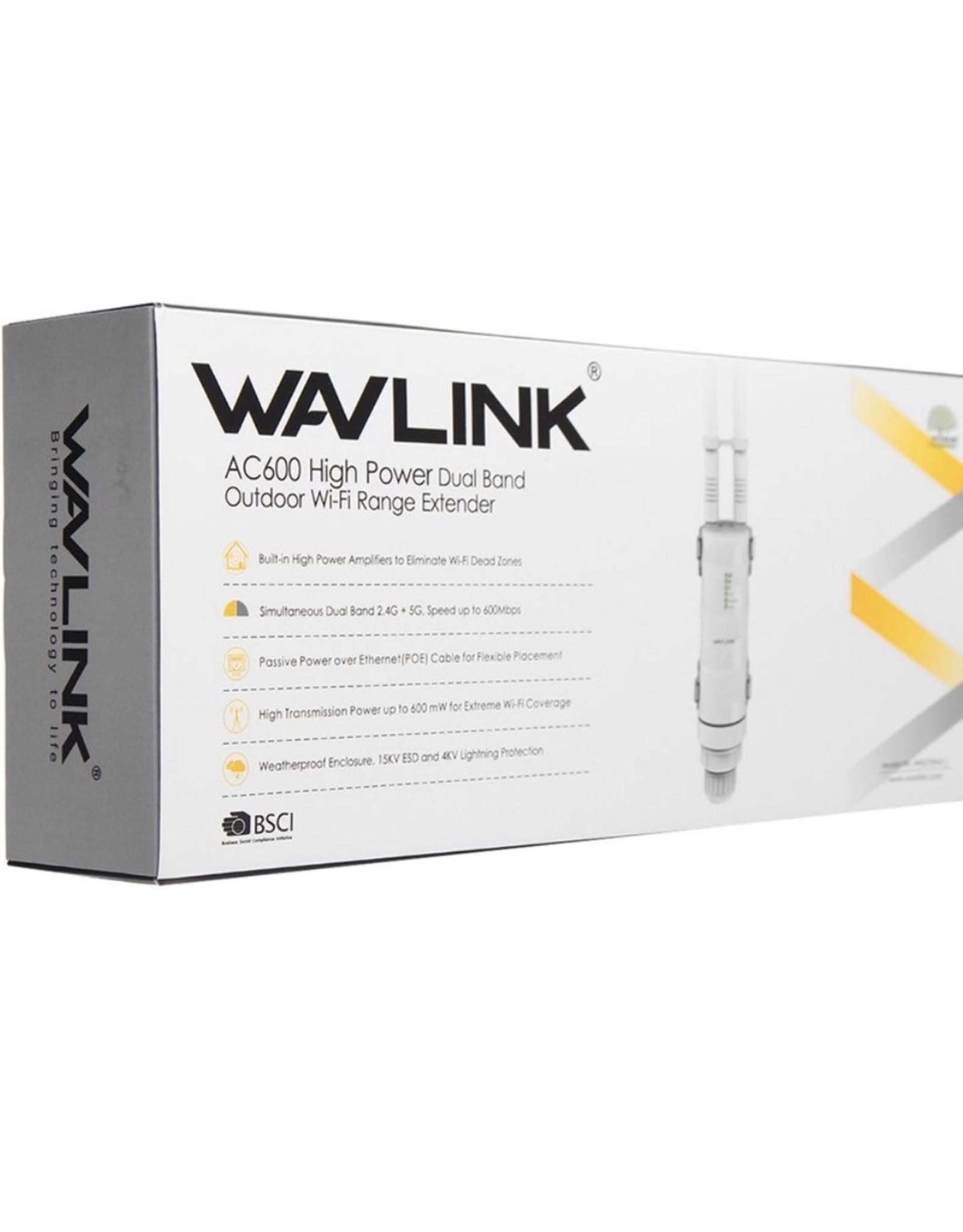 Wavlink Wavlink AC600 High Power Dual Band WiFi Range Extender