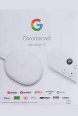 Google Chromecast with Google TV - 4K - Snow