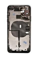 Rear Housing + Frame Back + Glass + Camera Glass  IPhone 11 Pro Max Black