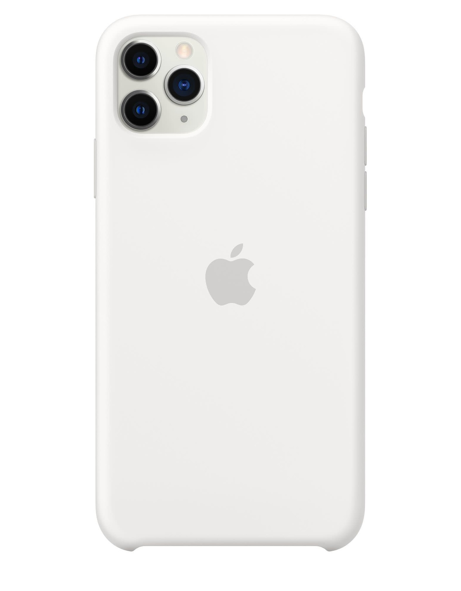 Apple White iPhone Silicone Case