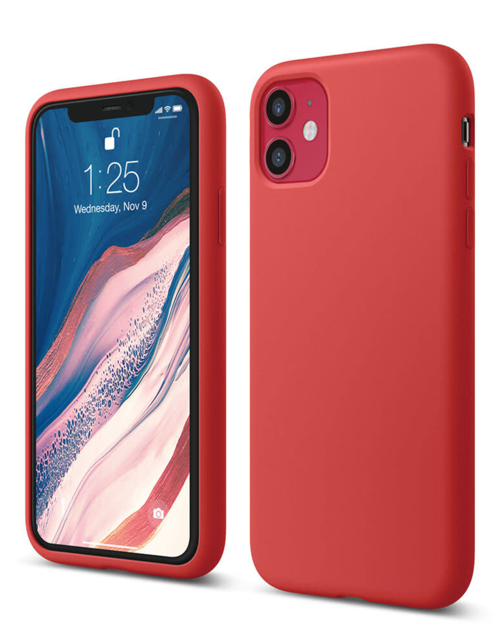 Apple Red iPhone Silicone Case