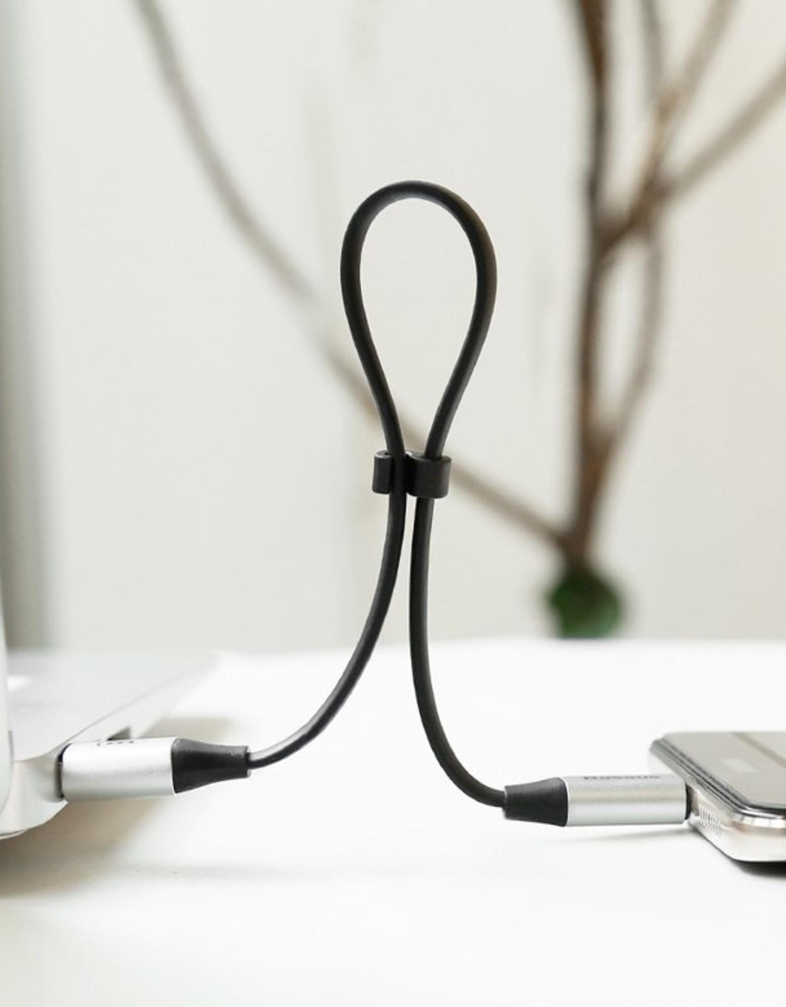 Basues Baseus Nimble Type-C Portable Cable 23CM Black