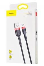Baseus Baseus Cafule Micro USB Cable 300cm Red & Black