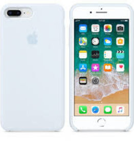Apple Sky Blue  iPhone Silicone Case
