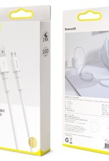 Baseus Baseus Mini White Cable 2.4A