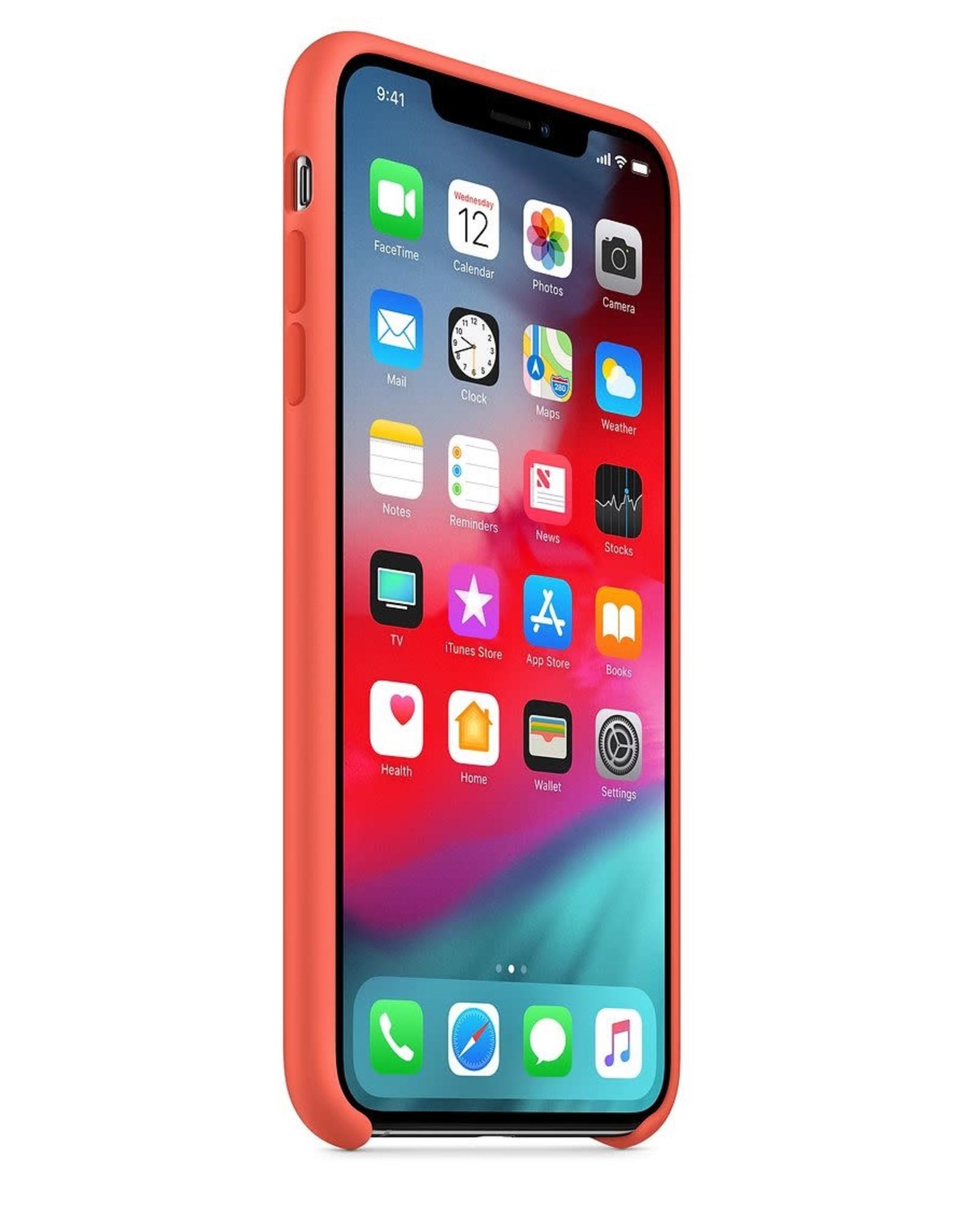 Apple Nectarine iPhone Silicone Case