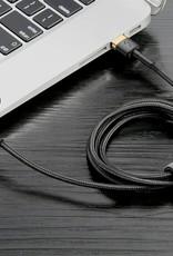 Baseus Baseus Cafule Cable USB For Lightning 2A 3M Gold+Black