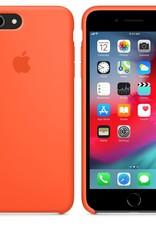 Apple Spicy Orange iPhone Silicone Case