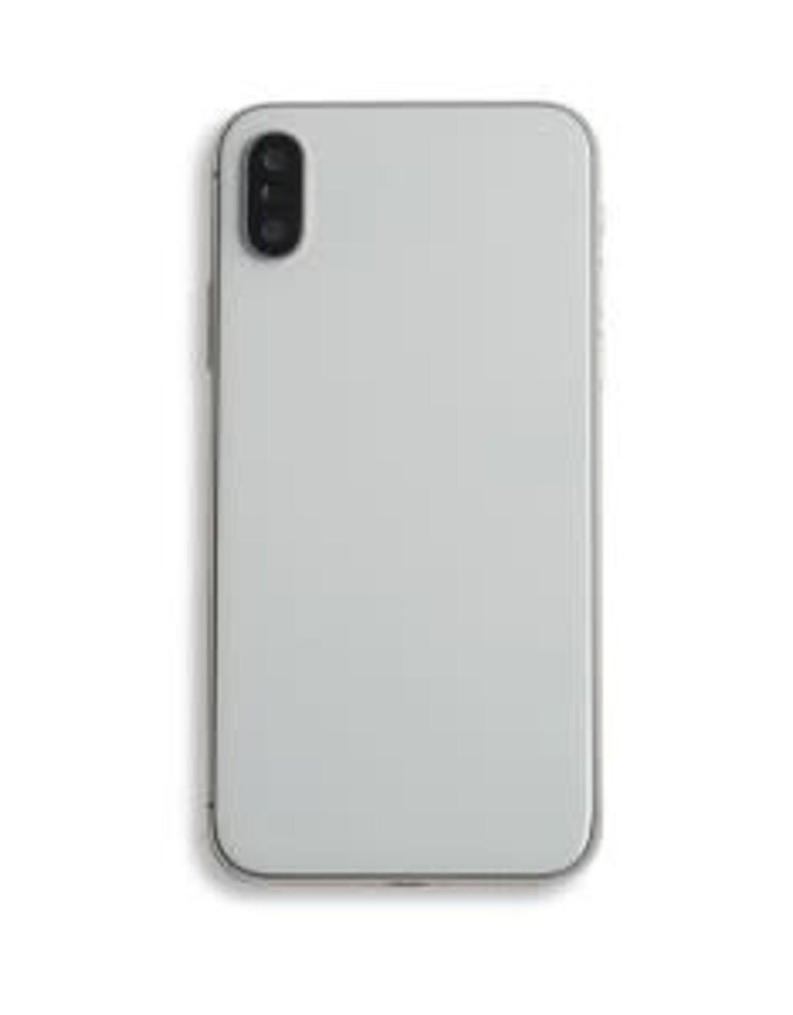 Rear Housing iPhone X + Frame Back + Glass + Camera Glass IPhone X Black