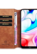 D.G. Ming DG.MING Retro Leather Wallet Case for Samsung Galaxy