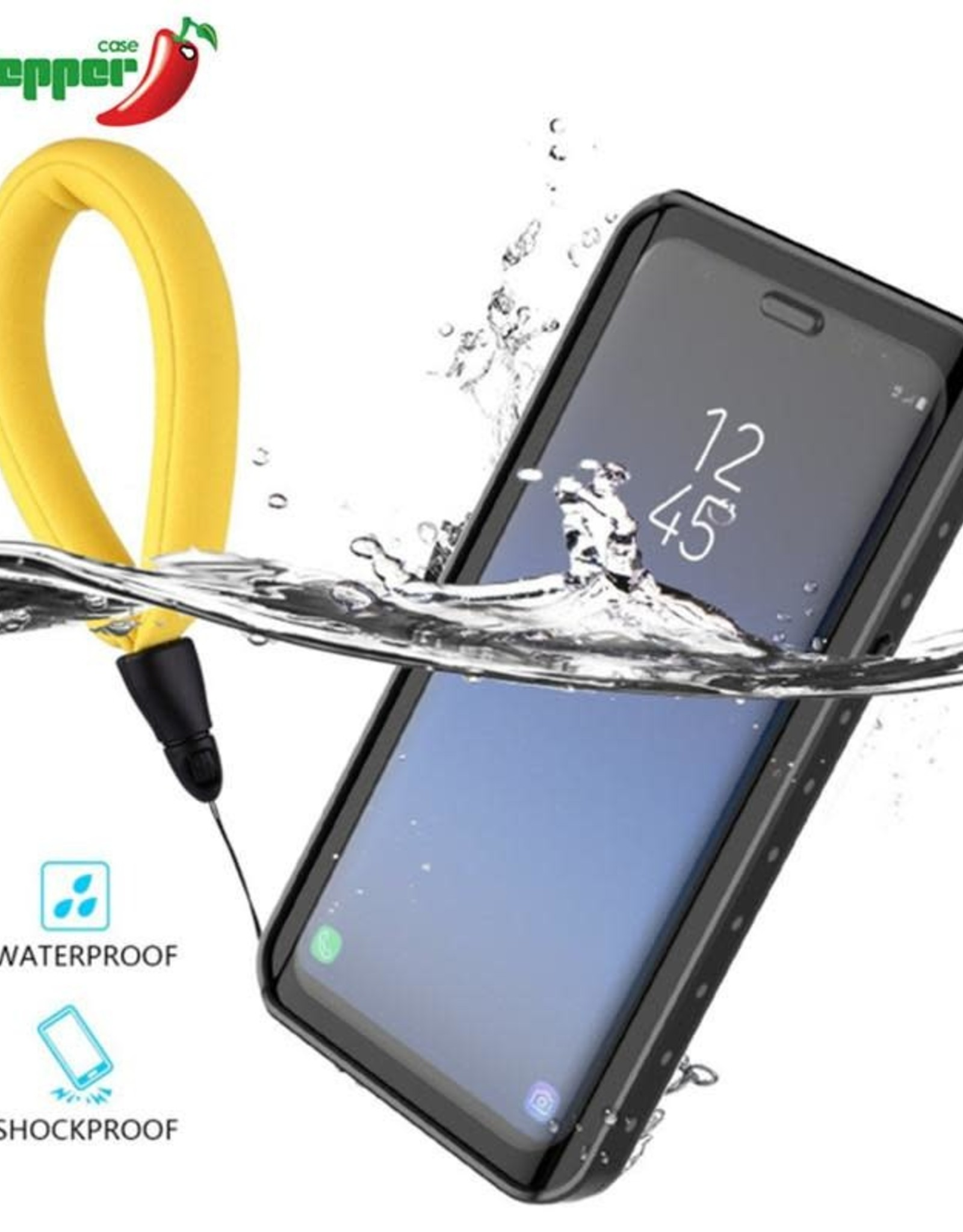 Redpepper Redpepper Dot+ Water Proof Snow Proof + Shock Proof + Dirt Proof + Case Cover Note 8 Black