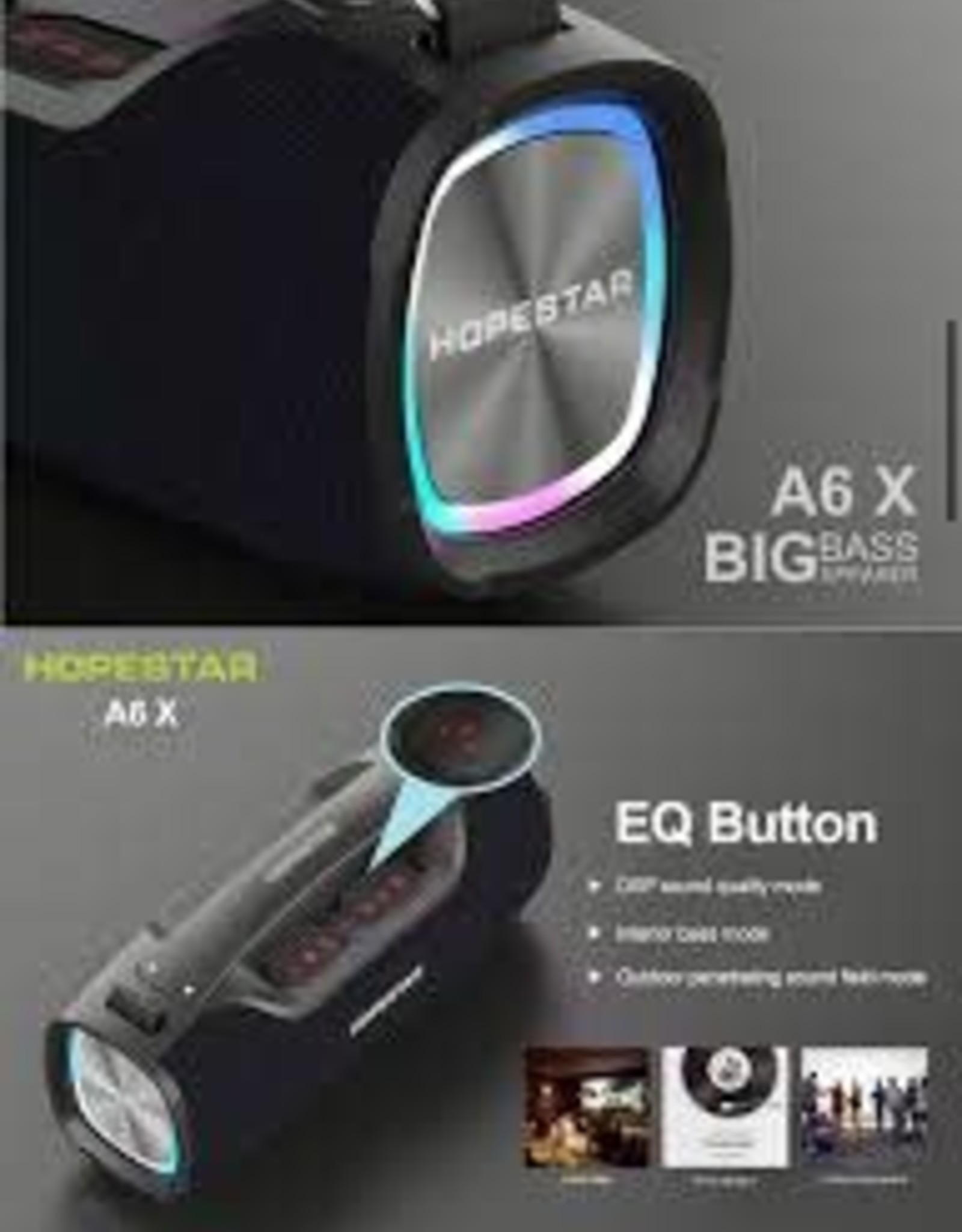 HopeStar HOPESTAR A6x  Party Speaker