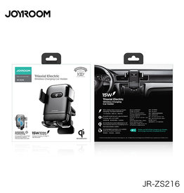 Joyroom JR-ZS216 Joyroom Triaxial Electric Wireless charger/Air vent