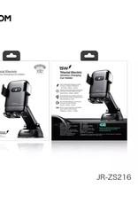 Joyroom JR-ZS216 Joyroom  Triaxial  Electric Wireless charger/ Dashboard