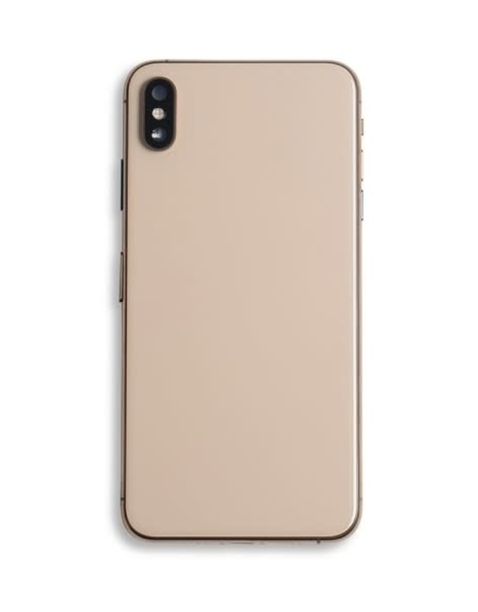 Rear Housing + Frame Back + Glass + Camera Glass  IPhone XS Max  Gold
