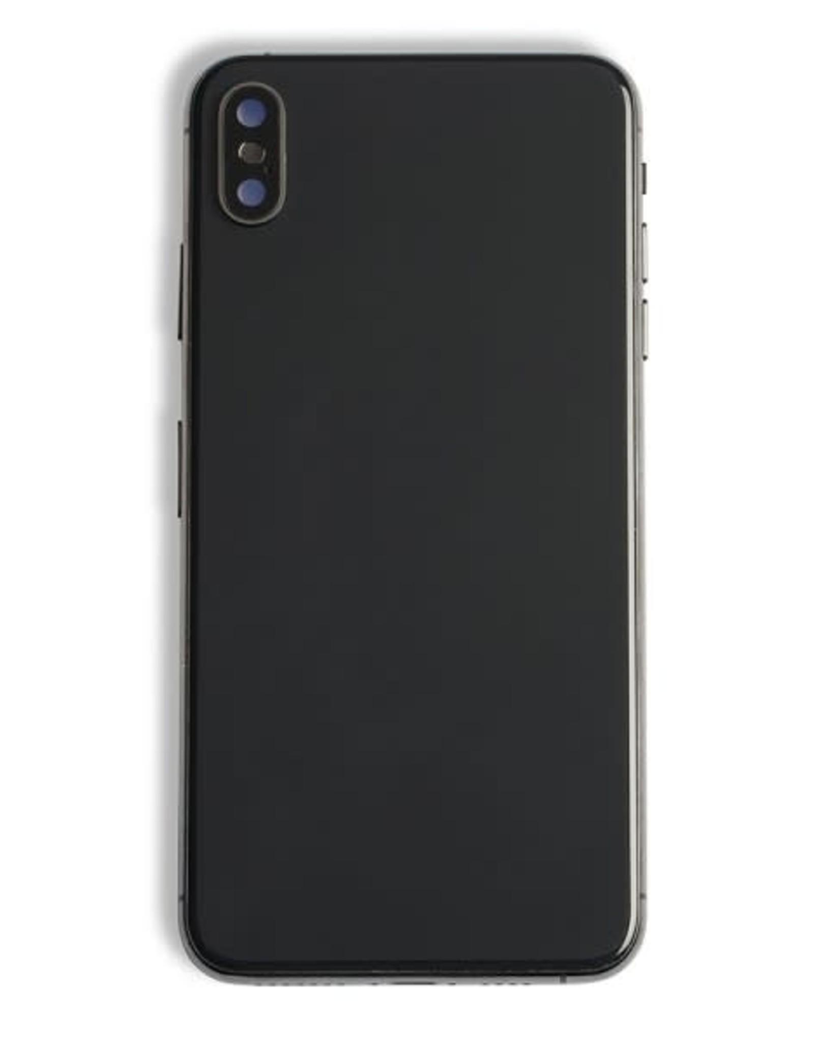 Rear Housing XS Max + Frame Back + Glass + Camera Glass  IPhone XS Max  Black