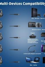 NUBWO N13 3.5mm Gaming Headset Stereo Gaming Headphones with Mic