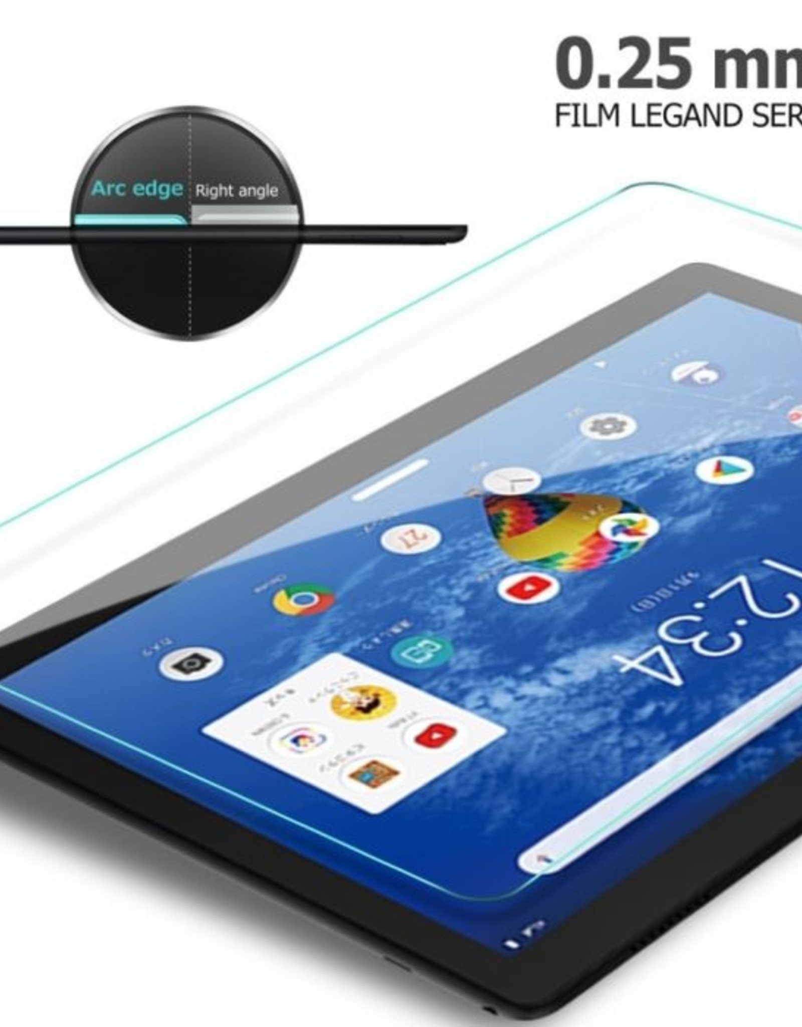 Tempered Glass for Tablet* TAB A 10.1 2019 GLASS *