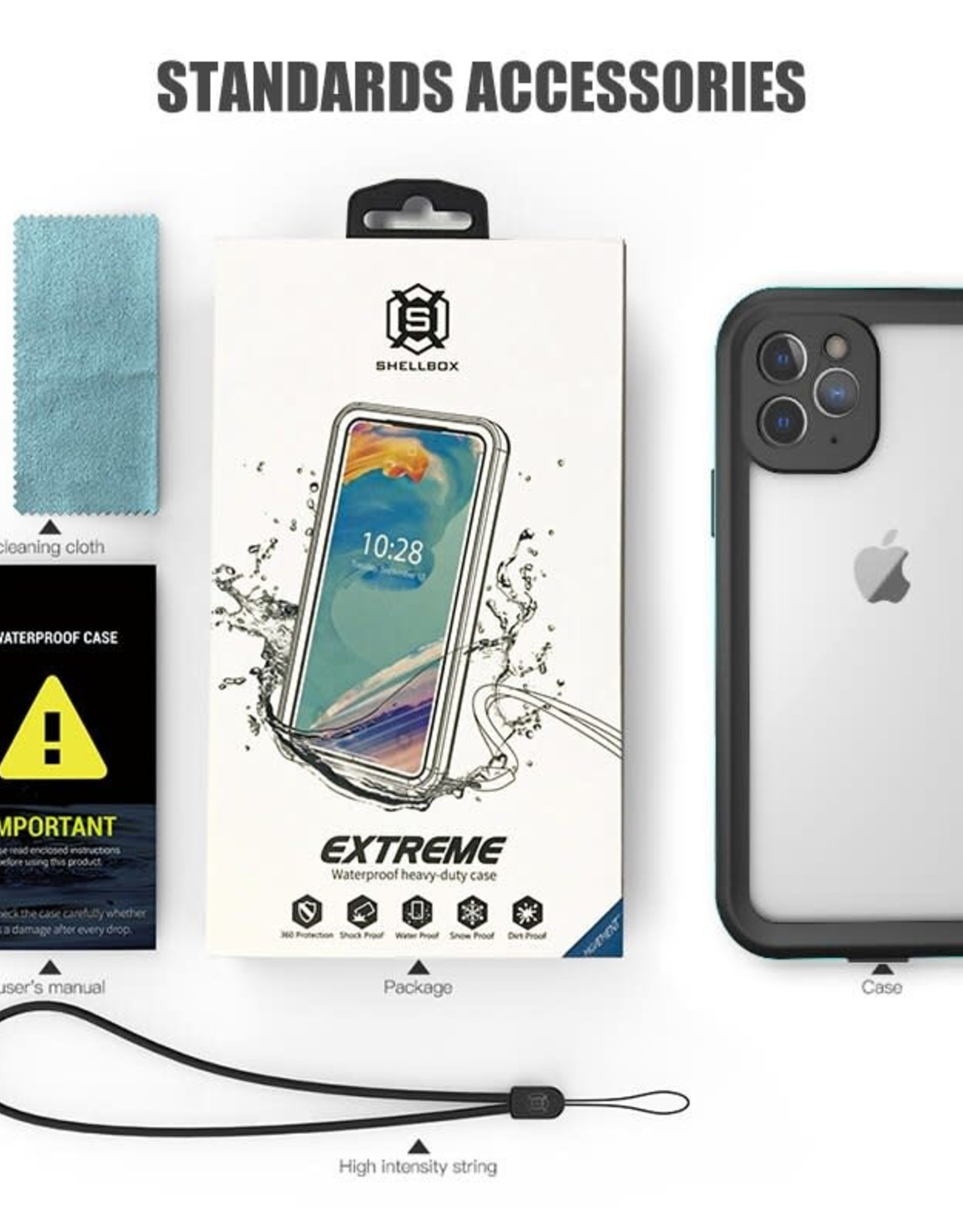shellbox Shellbox Waterproof Case for iPhone 12