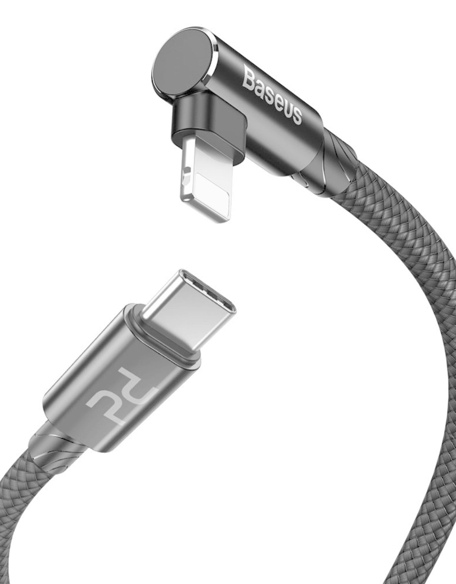 Baseus Baseus MVP Elbow Type-C to Lightning Cable PD 18W 2m Black