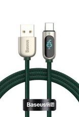 Baseus Baseus USB to Type-C 40W Digital Display Fast Charge