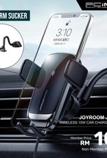Joyroom Joyroom Auto Match Coil Electric Wireless Car Charger Holder (suction cup version)