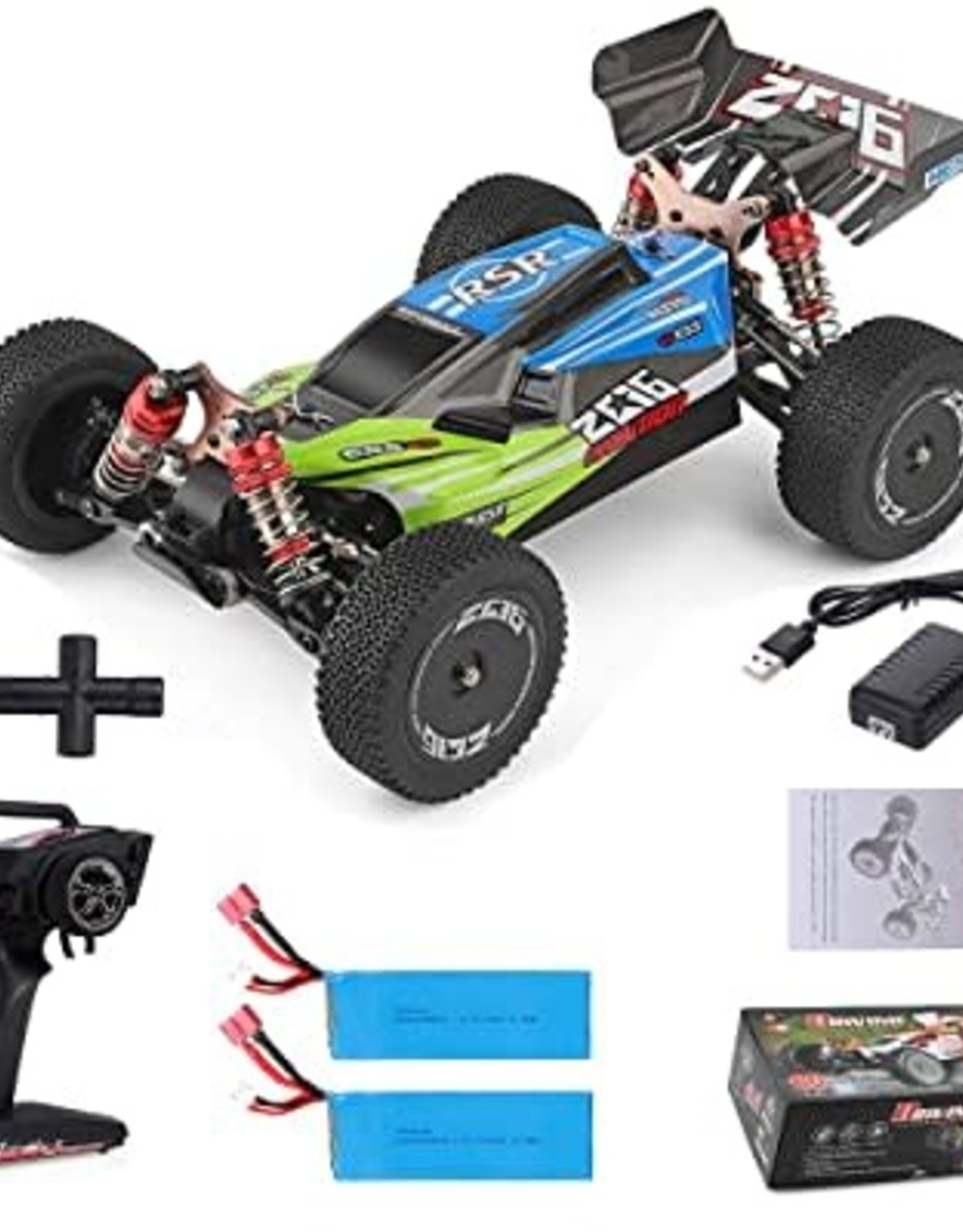 WL TOYS Wltoys 144001 1/14 2.4G Racing RC Car 4WD High Speed Remote Control