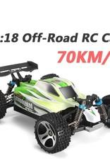 WL TOYS WLTOYS  Vortex A959-B 1/18 RC Car 70km/h 2.4G Off-road Remote Control RC Speed Car Green