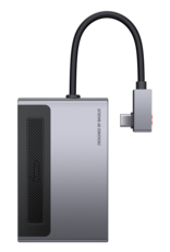 Baseus Baseus Magic Multifunctional Type-C HUB with a Retractable Clip Standard Edition Space