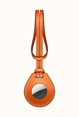 Apple Leather AirTag protector Hermes design