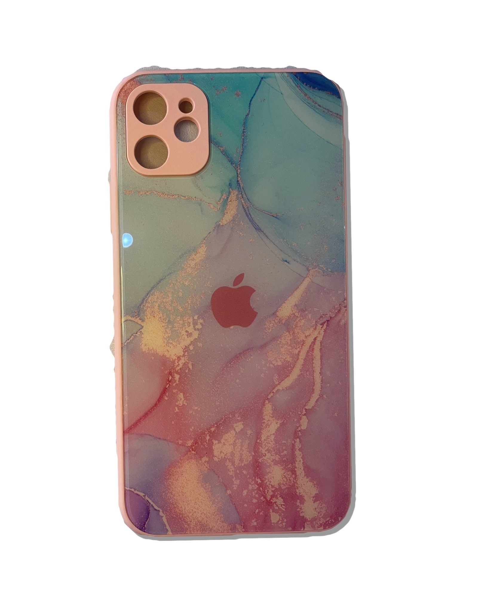 Marble Colorful Glass Back Cover