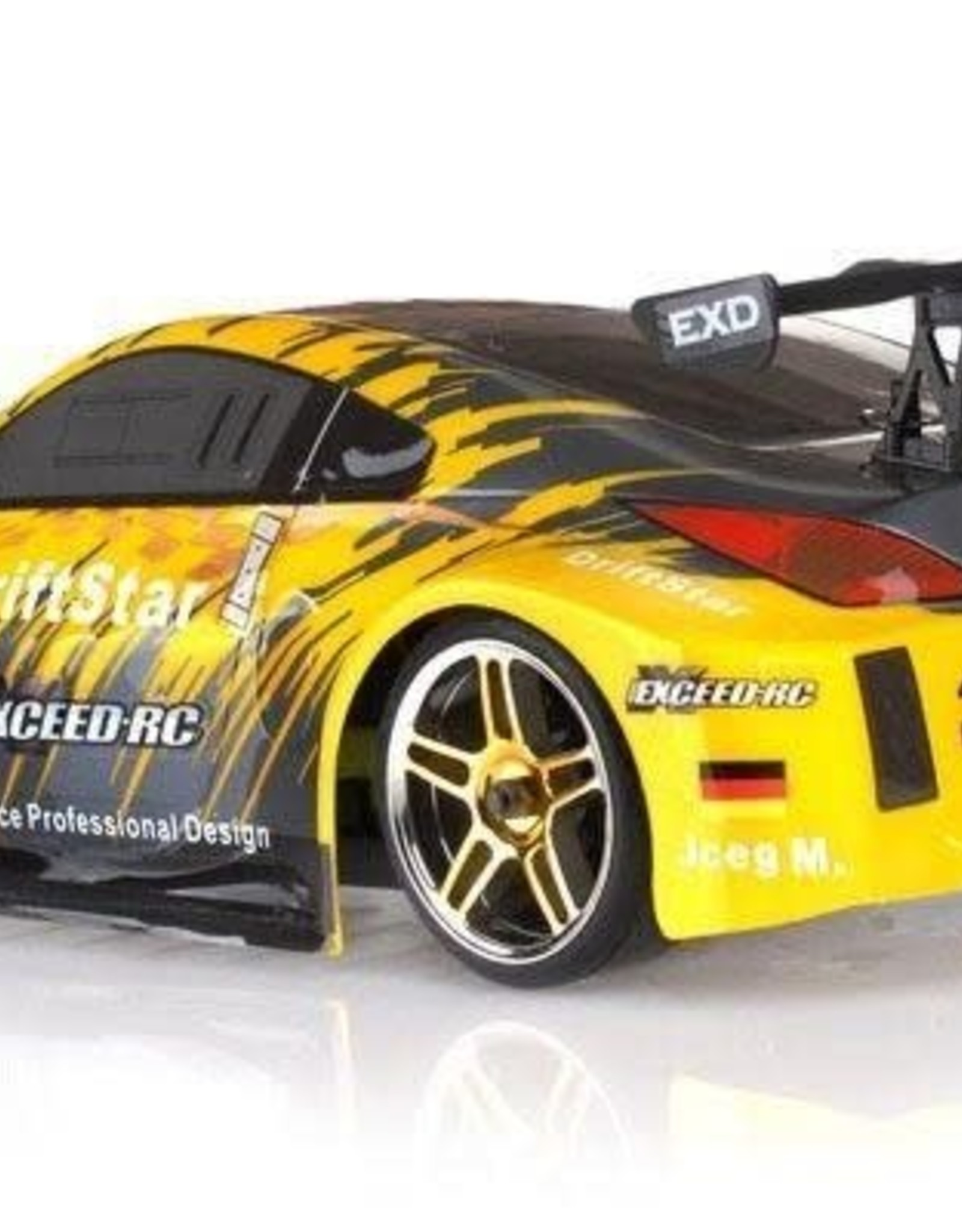 HSP Racing Rc Car 4wd 1:10 Electric Power On Road High Speed Drift Car Yellow