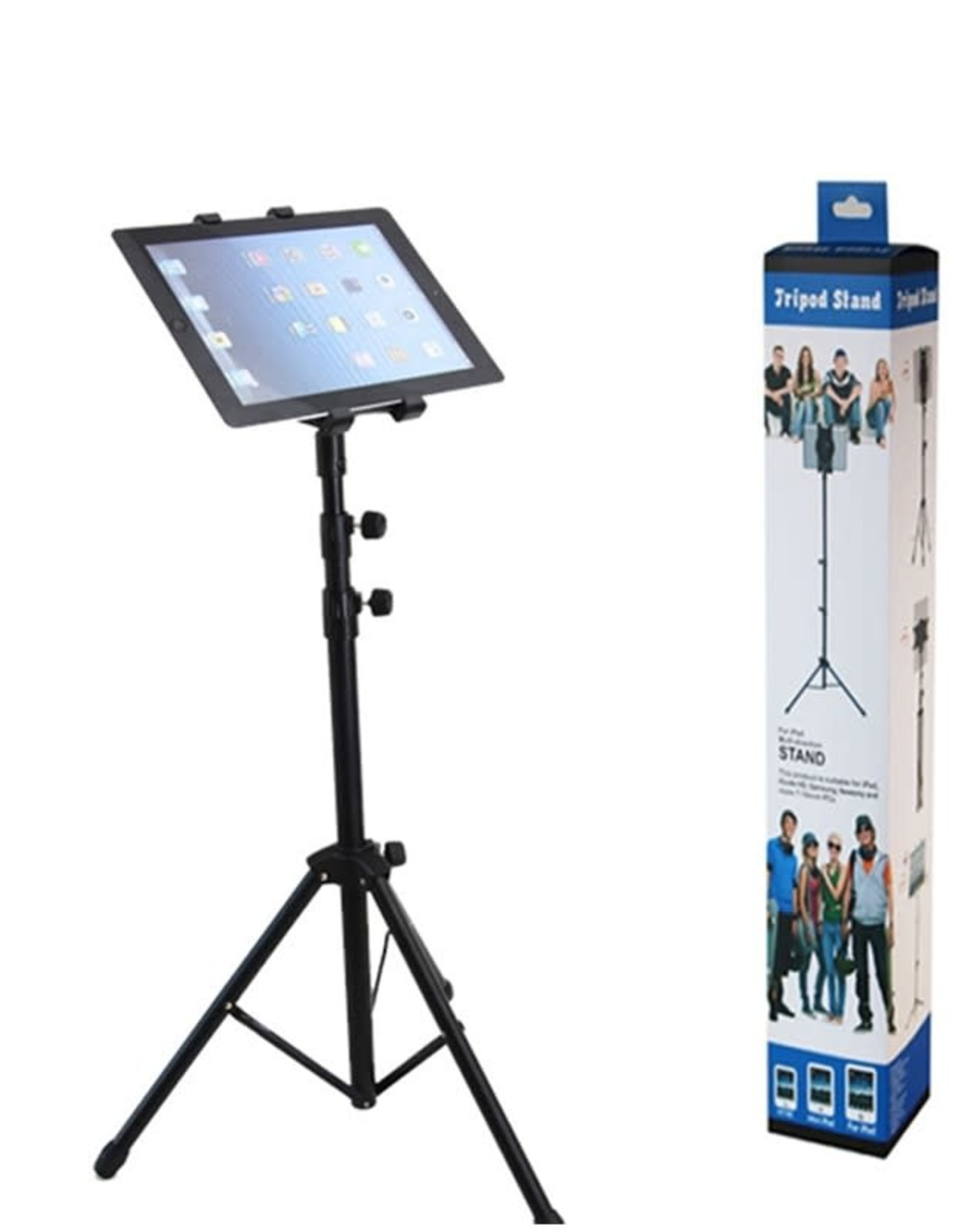 Tripod Stand 4-12.9 Universal Cell Phone/Tablet Holder