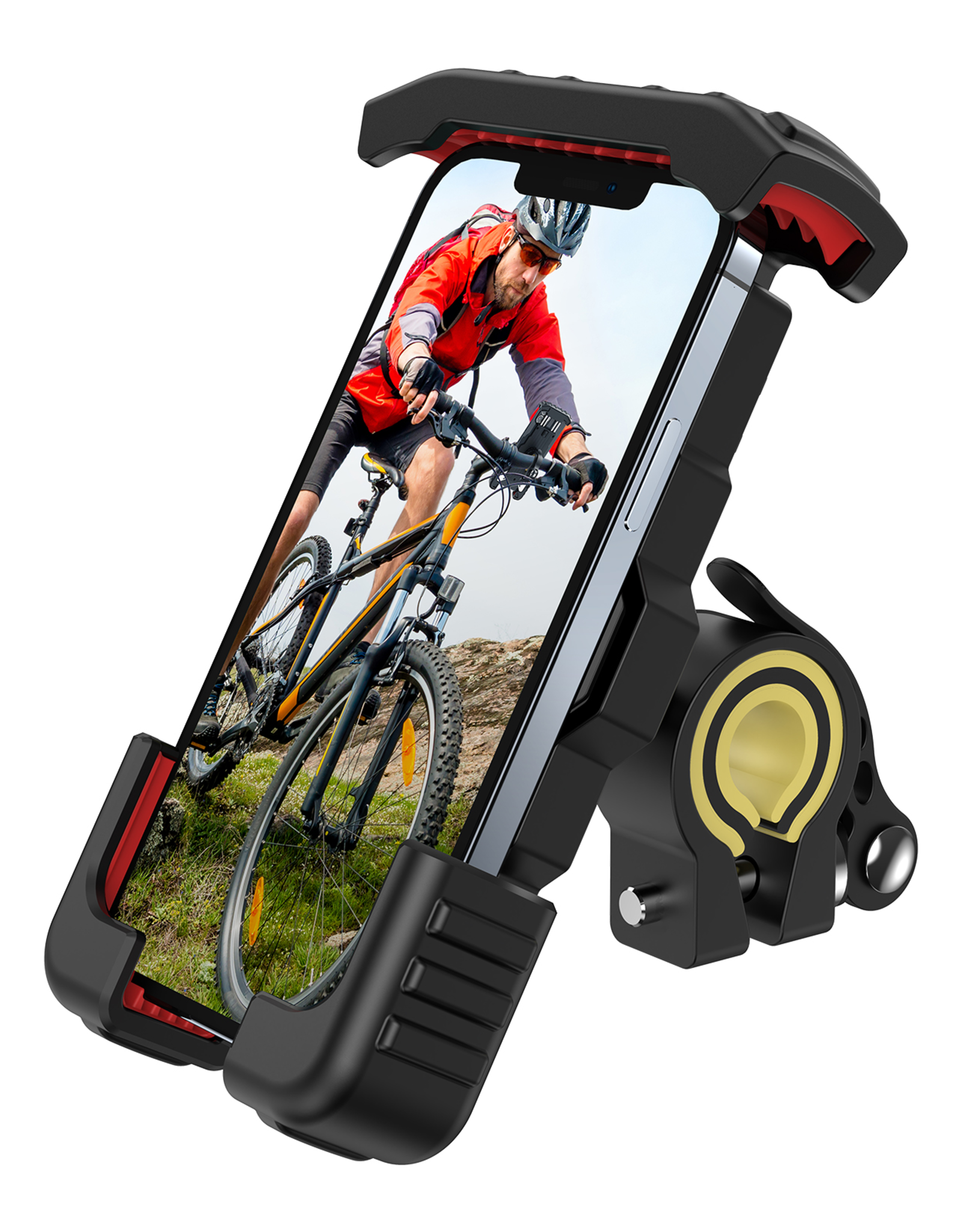 JOYROOM JR-ZS264 Wholesale Motorcycle Bike Bicycle Adjustable Mobile Phone Holder for Cell Phone GPS