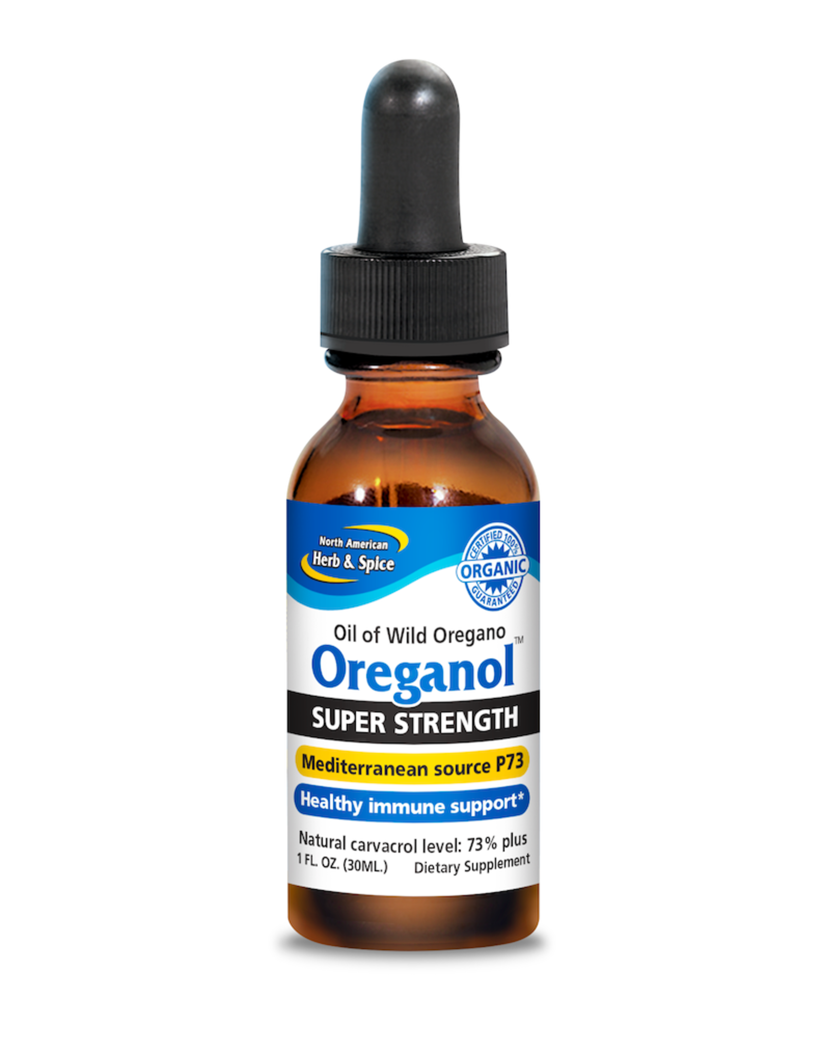 North American Herb & Spice Oreganol Super Strength P73 Oil of Oregano