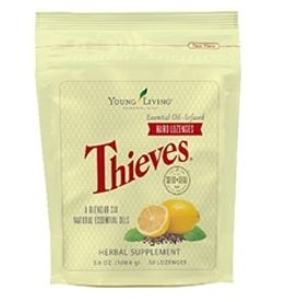 Young Living Thieves Hard Lozenges 30 ct. 0.7 lb.