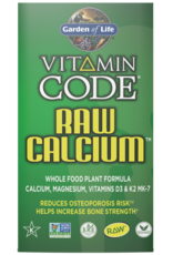 Garden Of Life Vitamin Code Raw Calcium 120ct