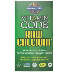 Garden Of Life Vitamin Code Raw Calcium 120ct