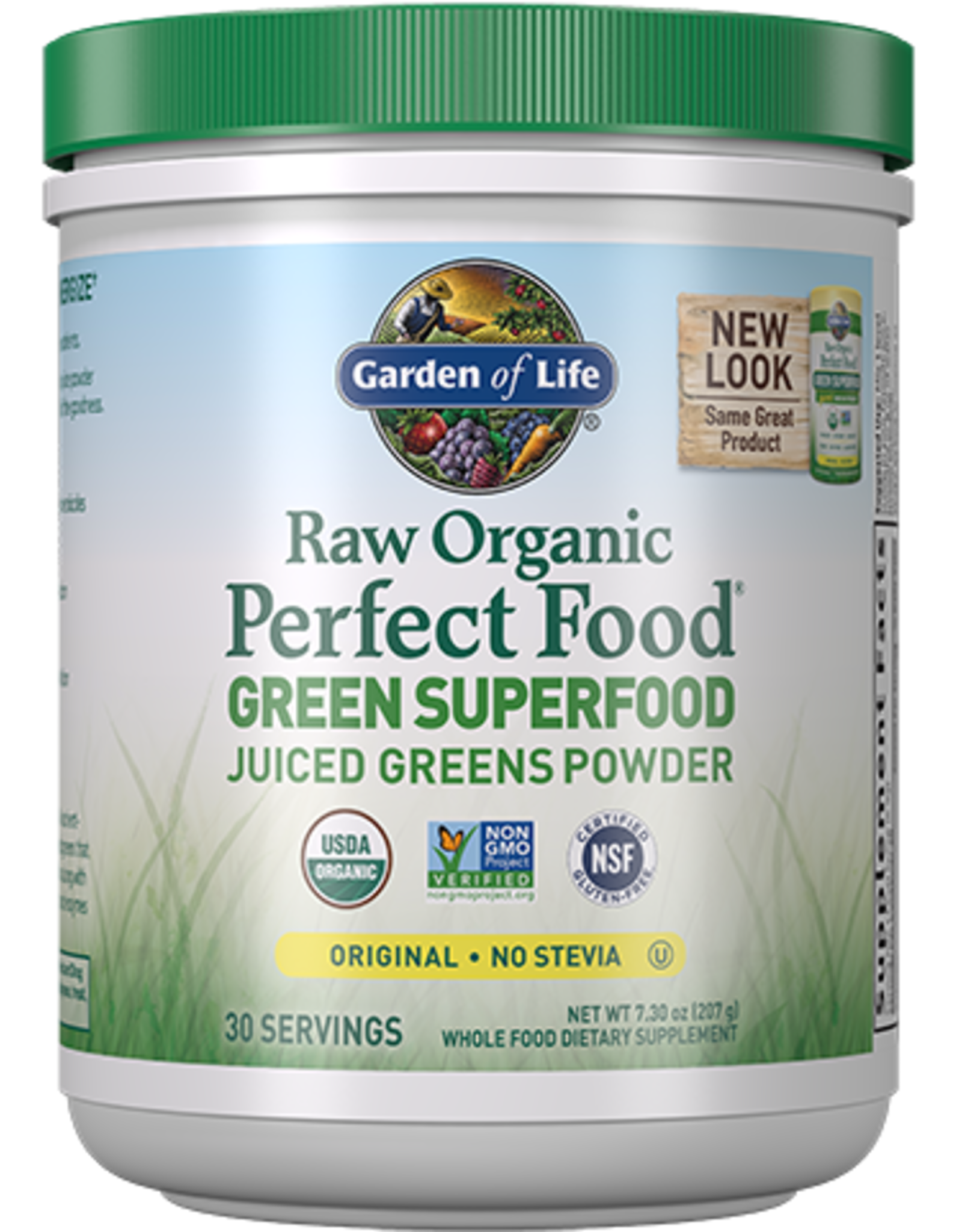 Garden Of Life Raw Organic Perfect Food Green Superfood Original 209g Powder