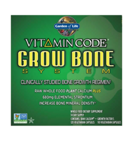 Garden Of Life Vitamin Code Grow Bone 30-Day KIT