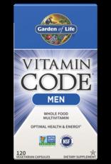 Garden Of Life Vitamin Code Men 120ct