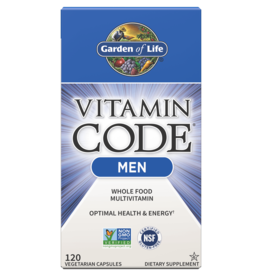 Garden Of Life Vitamin Code Men 120ct