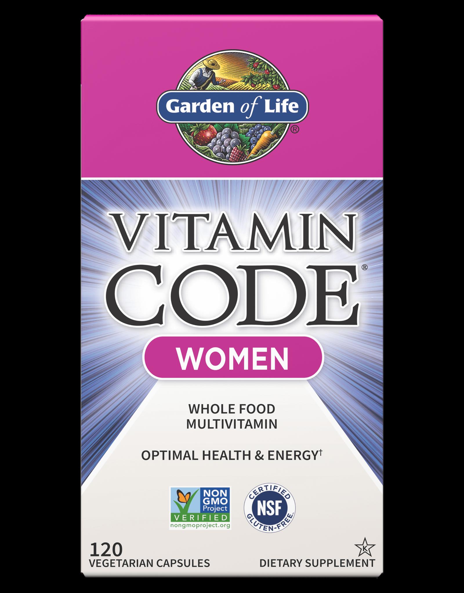 Garden Of Life Vitamin Code Women 120ct