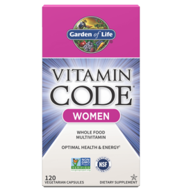 Garden Of Life Vitamin Code Women 120ct