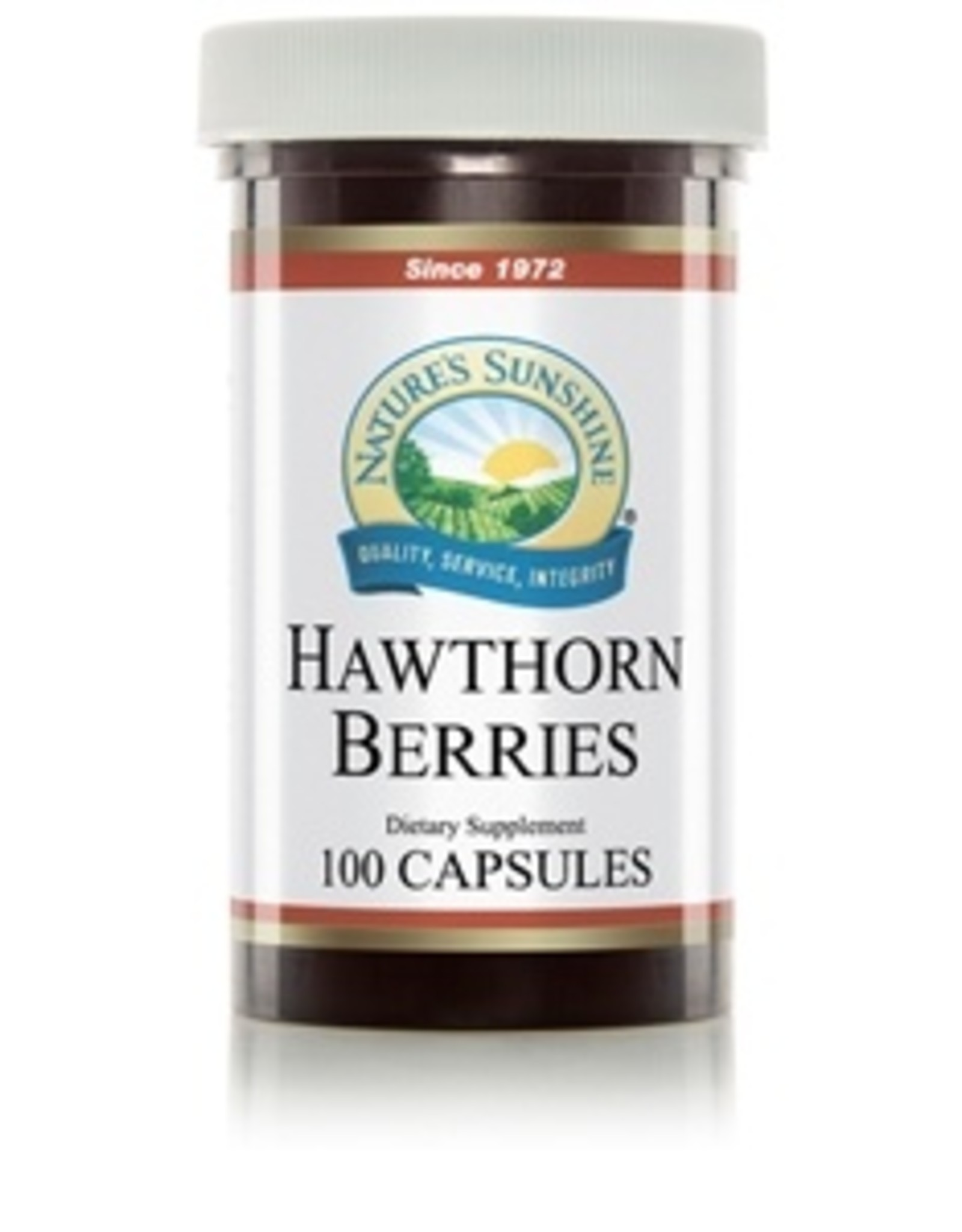 Nature's Sunshine Hawthorn Berries (100 caps) (ko)