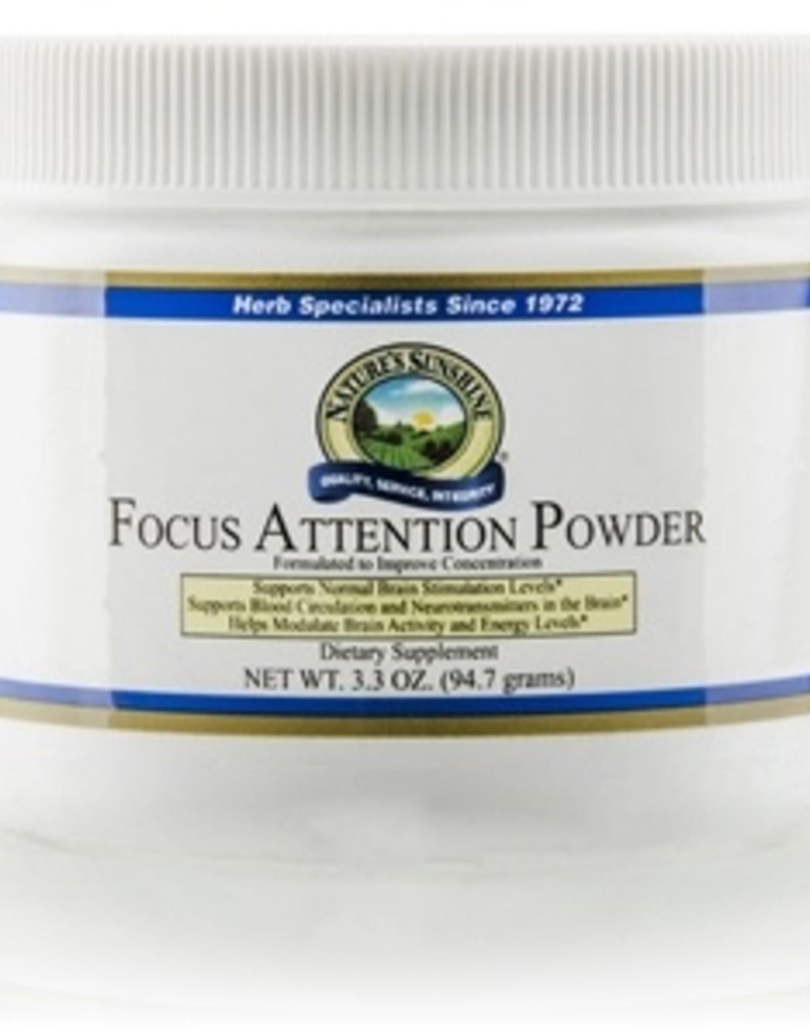 Nature's Sunshine Focus Attention Powder