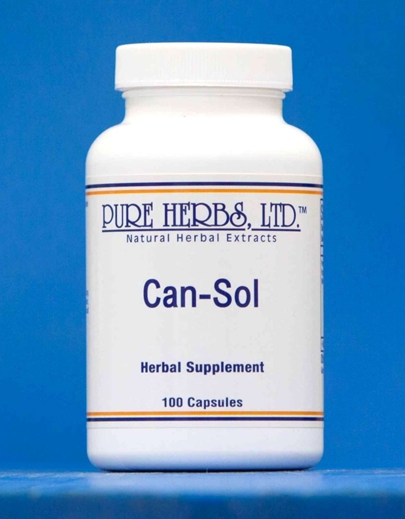 Pure Herbs Can Sol Capsules 100ct