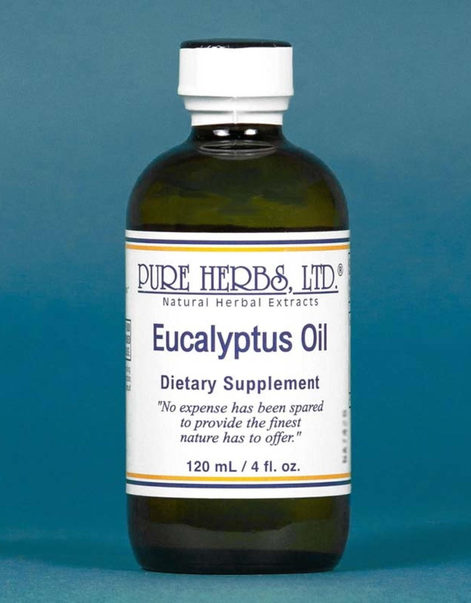 Pure Herbs Eucalyptus Oil 4oz