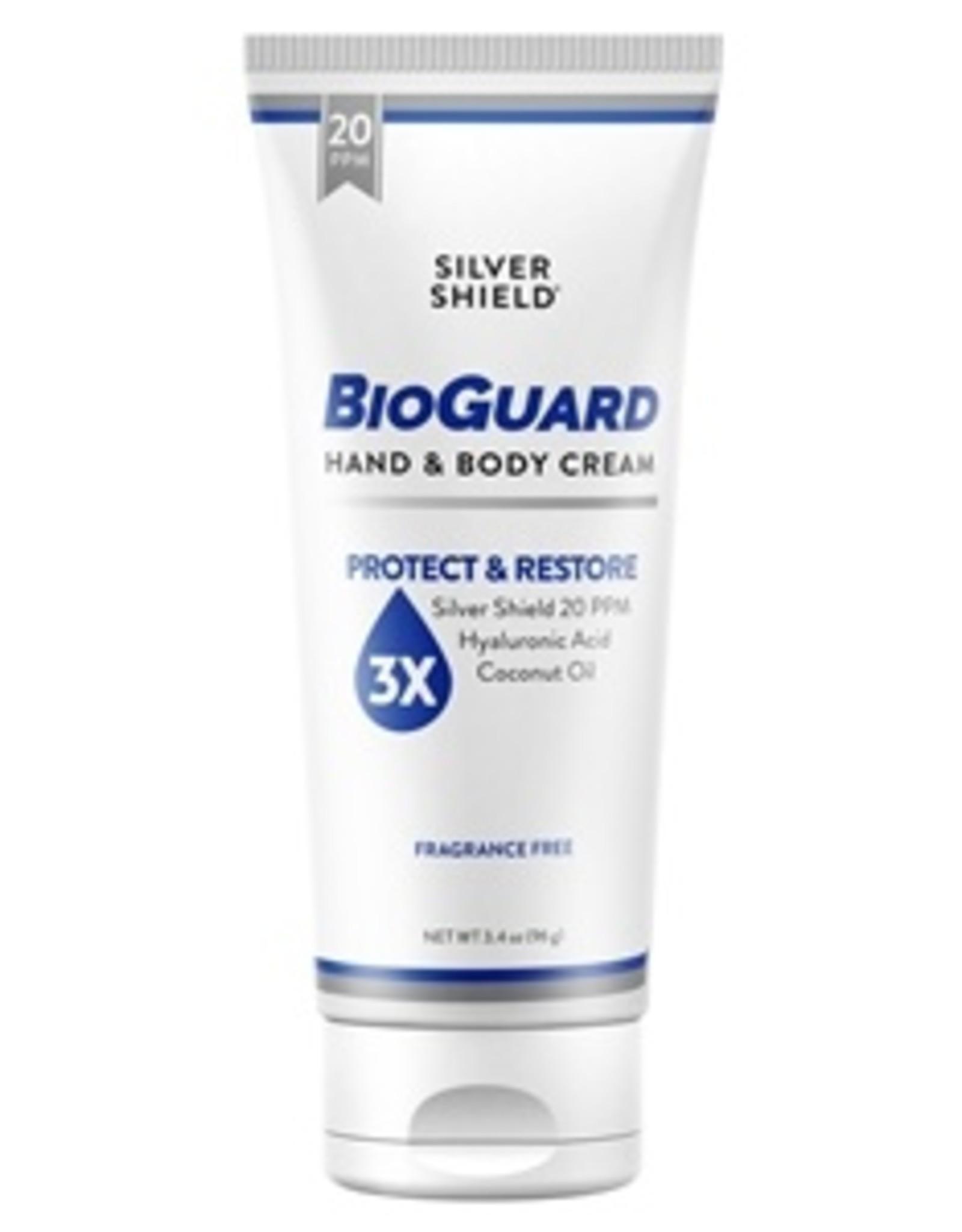 Nature's Sunshine Silver Shield Bioguard Hand & Body Cream 3.4oz